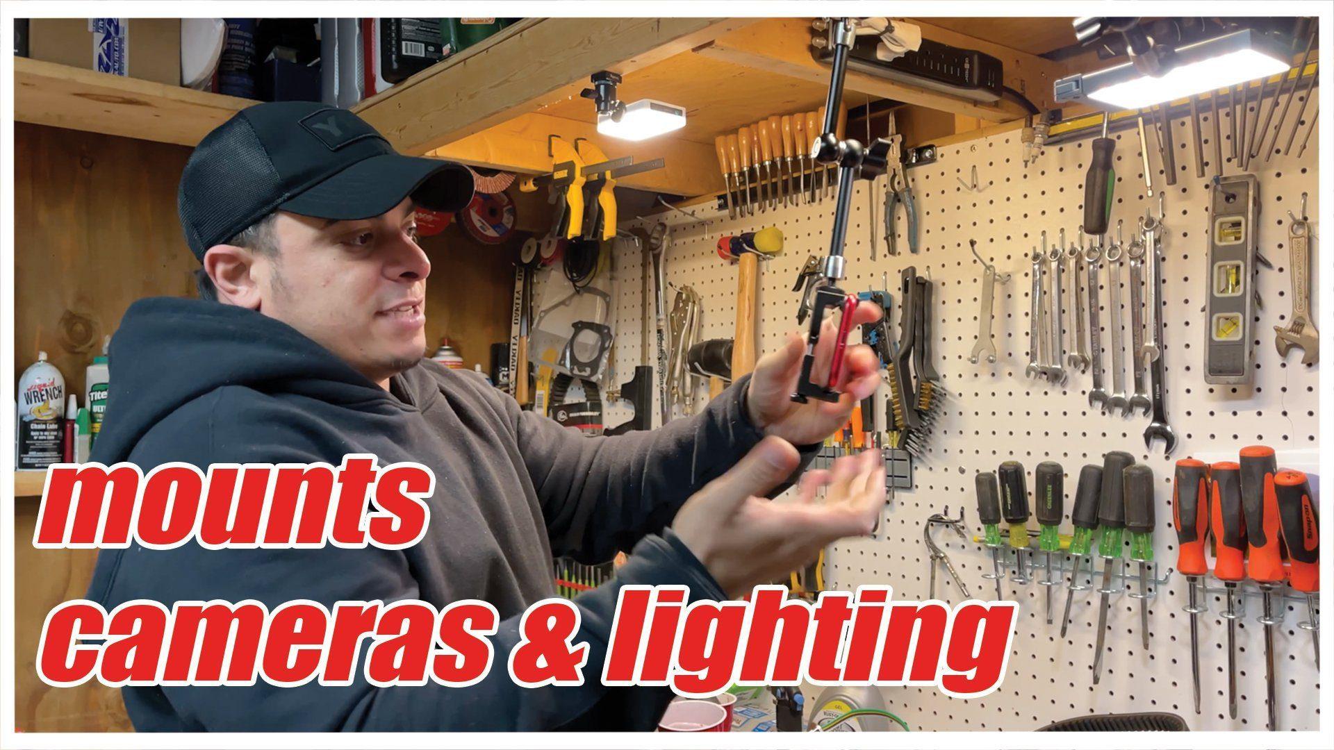 Camera & Light Mounting